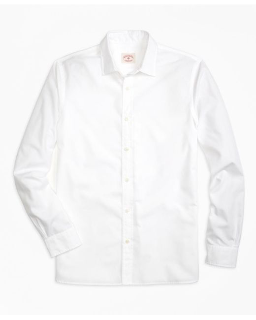 Brooks Brothers | White Nine-to-nine Shirt for Men | Lyst