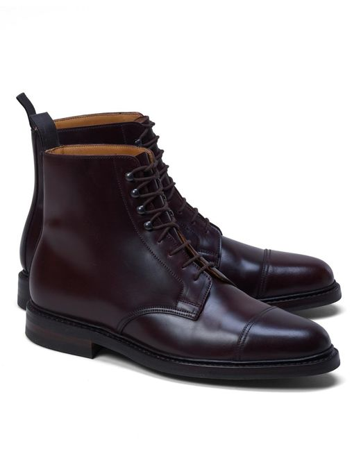 Brooks Brothers - Purple Peal & Co.® Cordovan Boots for Men - Lyst
