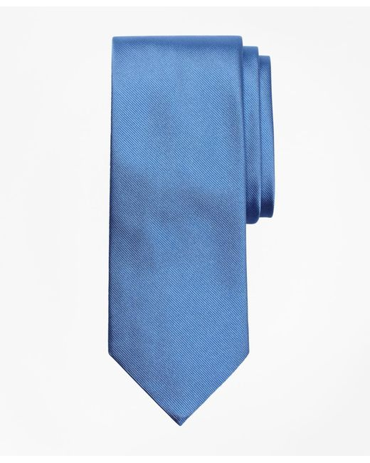 Brooks Brothers - Blue Solid Rep Tie for Men - Lyst