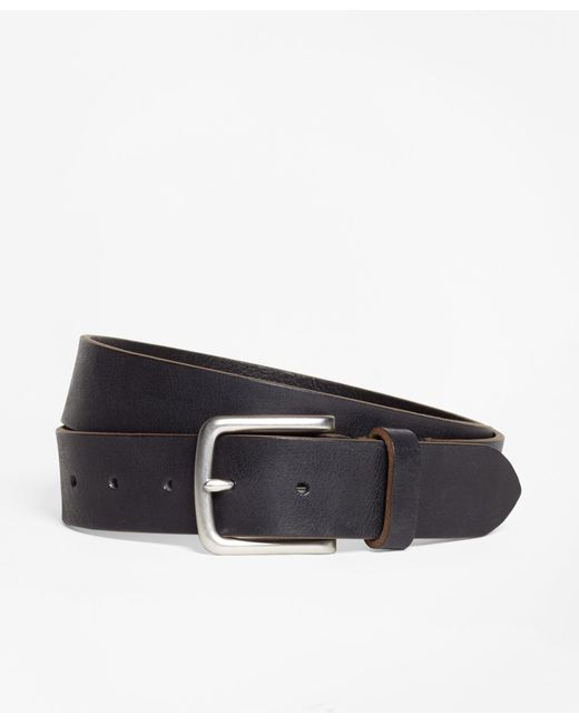Brooks Brothers | Brown Leather Belt for Men | Lyst