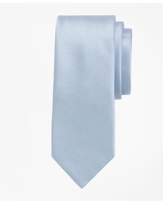 Brooks Brothers   Blue Formal Satin Slim Tie for Men   Lyst