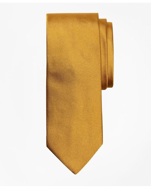 Brooks Brothers | Metallic Solid Rep Tie for Men | Lyst