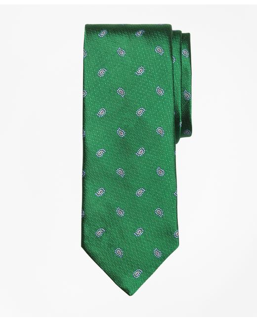 Brooks Brothers   Green Textured Pine Tie for Men   Lyst