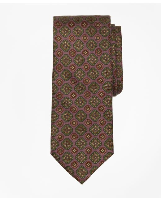 Brooks Brothers | Purple Ancient Madder Medallion Tie for Men | Lyst