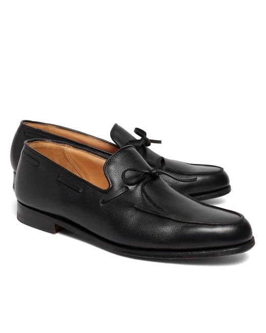 Brooks Brothers | Black Lightweight Tie Loafers for Men | Lyst