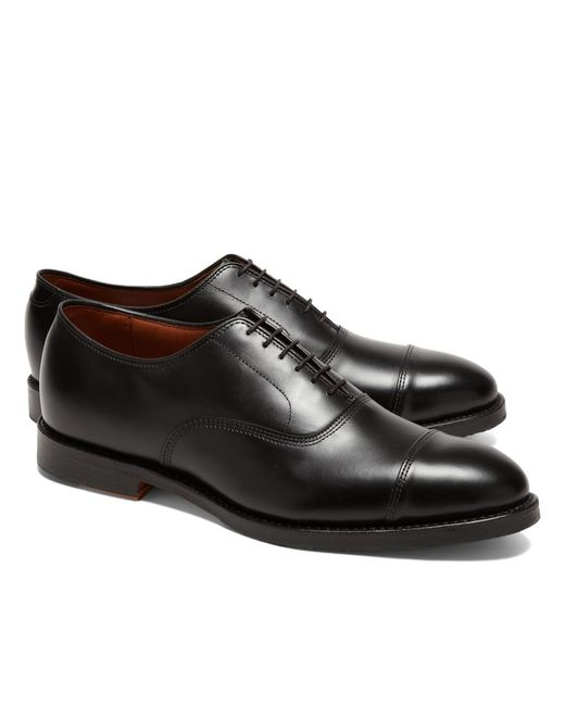 Brooks Brothers | Black Leather Captoes for Men | Lyst
