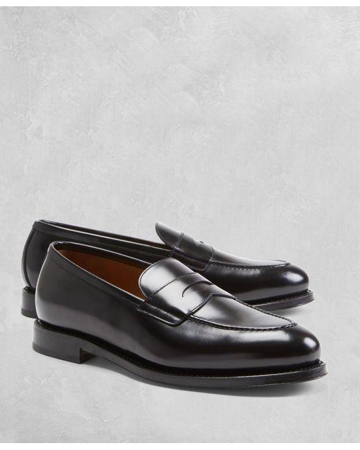 Brooks Brothers | Black Golden Fleece® Penny Loafers for Men | Lyst