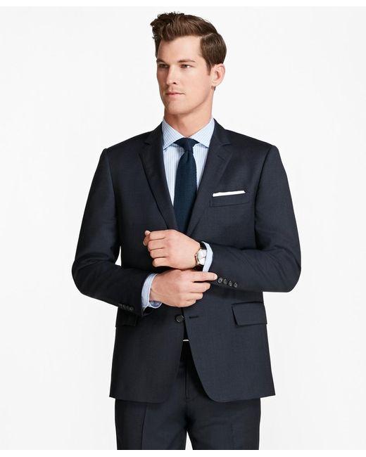 Brooks Brothers | Blue Regent Fit Screen Weave 1818 Suit for Men | Lyst