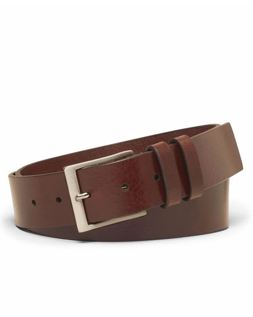Brooks Brothers | Brown Square Buckle Belt for Men | Lyst