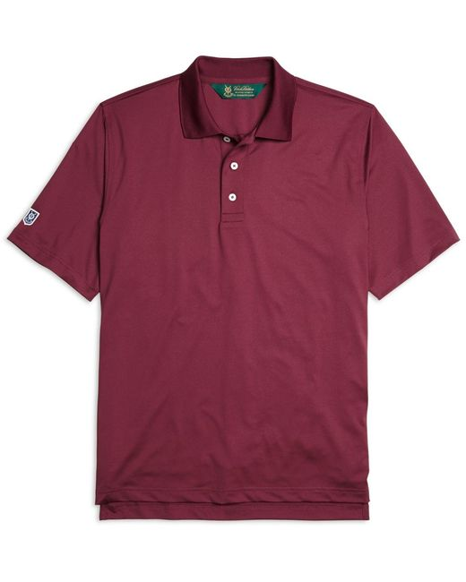 Brooks Brothers | Purple St Andrews Links Polo Shirt for Men | Lyst