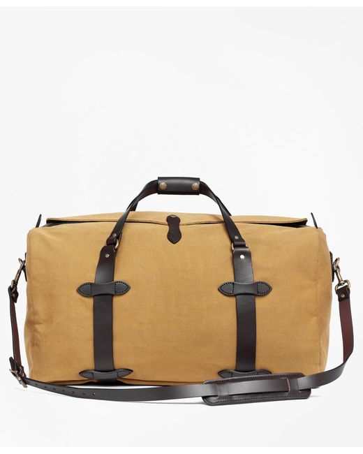 Brooks Brothers - Brown Filson® Medium Duffel Bag for Men - Lyst