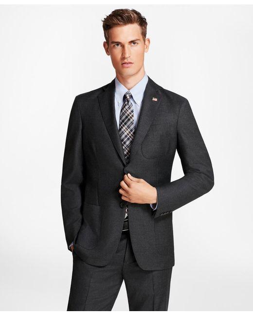 Brooks Brothers - Gray Regent Fit Brookscloudtm Neat 1818 Suit for Men - Lyst