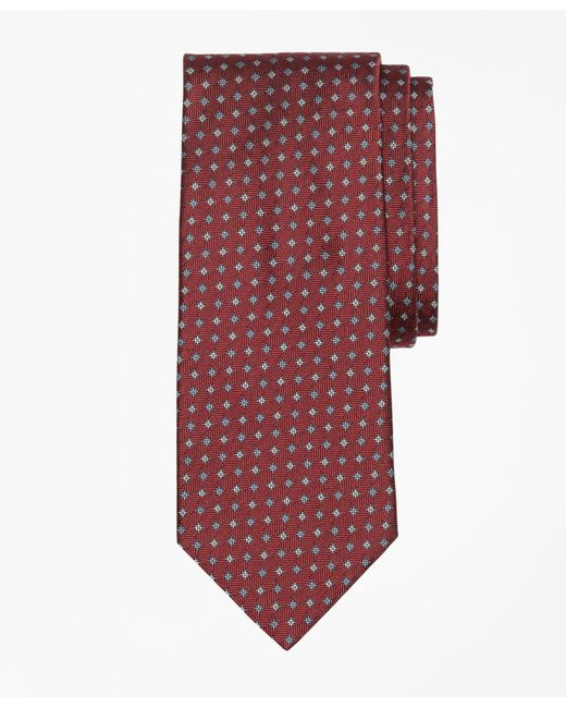 Brooks Brothers - Red Parquet Tie for Men - Lyst