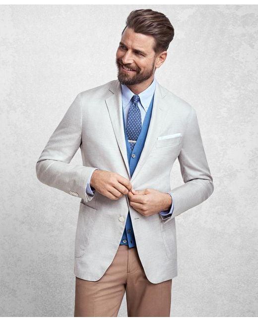Brooks Brothers - Blue Golden Fleece® Brookscloudtm Silk Sport Coat for Men - Lyst