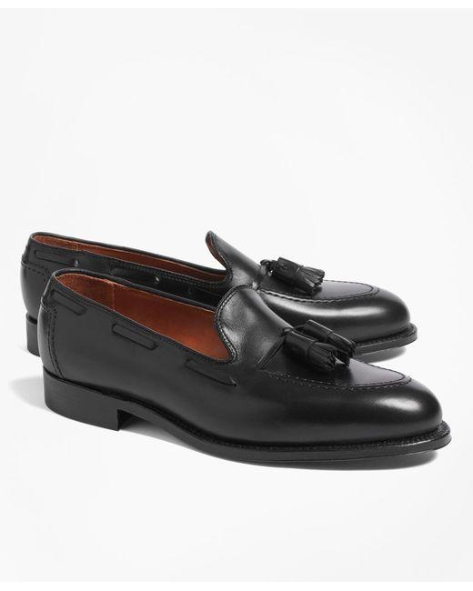 Brooks Brothers - Black Tassel Loafers for Men - Lyst