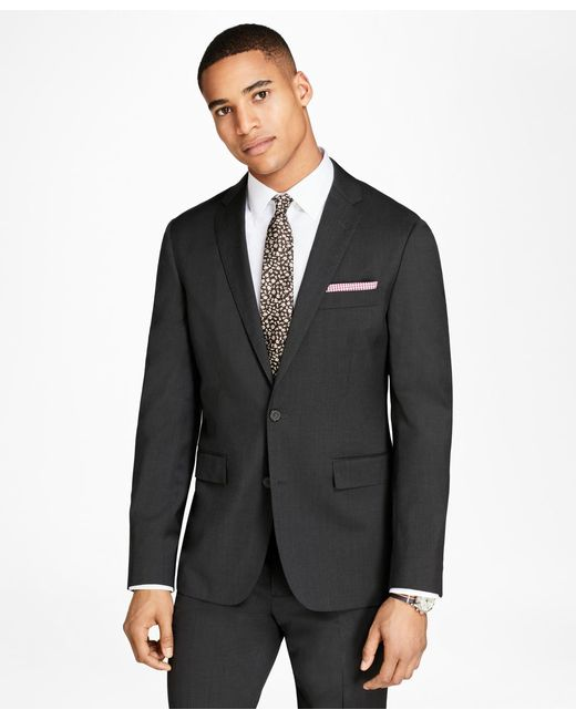 Brooks Brothers | Gray Wool Twill Suit Jacket for Men | Lyst
