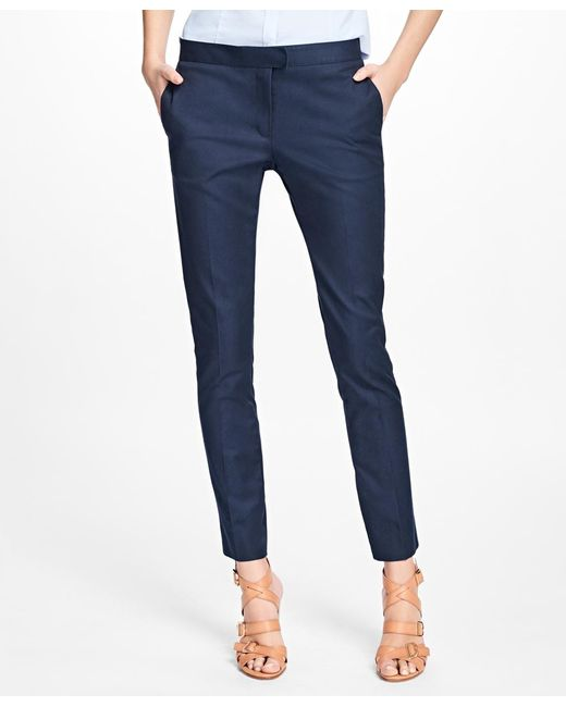 Brooks Brothers - Blue Flat-front Advantage Chinos® - Lyst