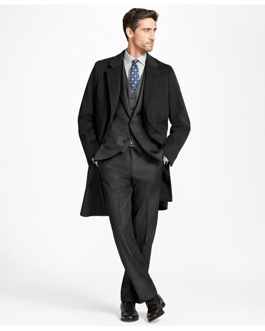 Brooks Brothers - Multicolor Brooksstorm® Long Town Coat for Men - Lyst
