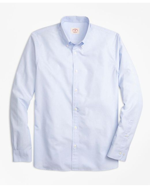Brooks Brothers - Blue Nine-to-nine Polo Button-down Collar Shirt for Men - Lyst