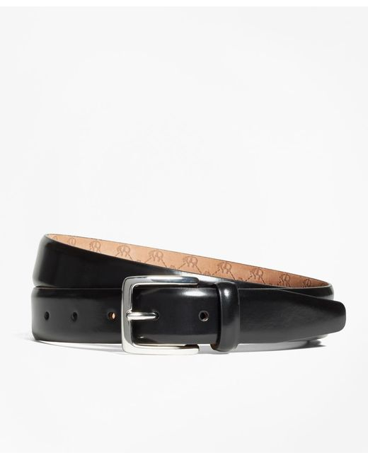 Brooks Brothers   Black Golden Fleece® Monogram Belt for Men   Lyst