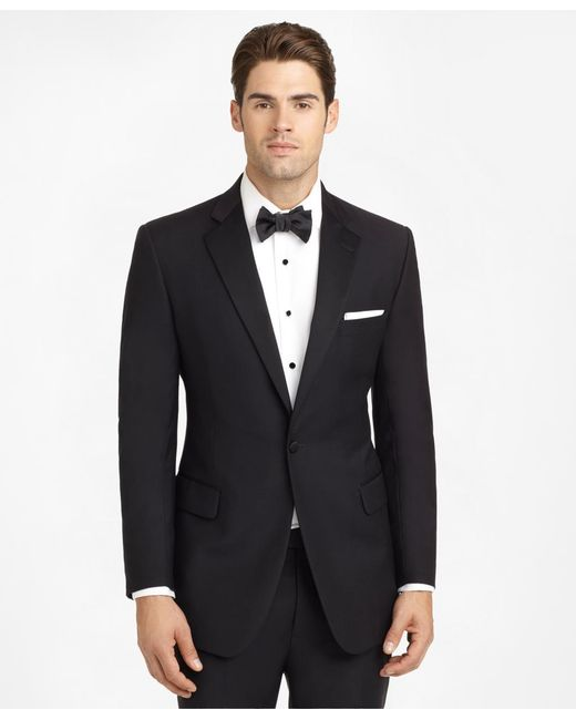 Brooks Brothers - Black Ready-made Regent Fit Tuxedo Jacket for Men - Lyst