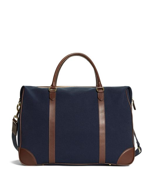 Brooks Brothers - Blue Canvas Duffle Bag for Men - Lyst