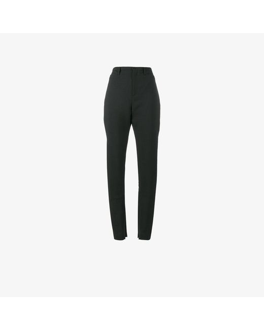 Balenciaga | Black Slim Tailored Trousers | Lyst