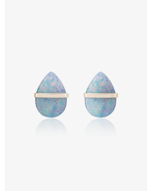 Melissa Joy Manning - Metallic Labradorite Stud Earrings - Lyst