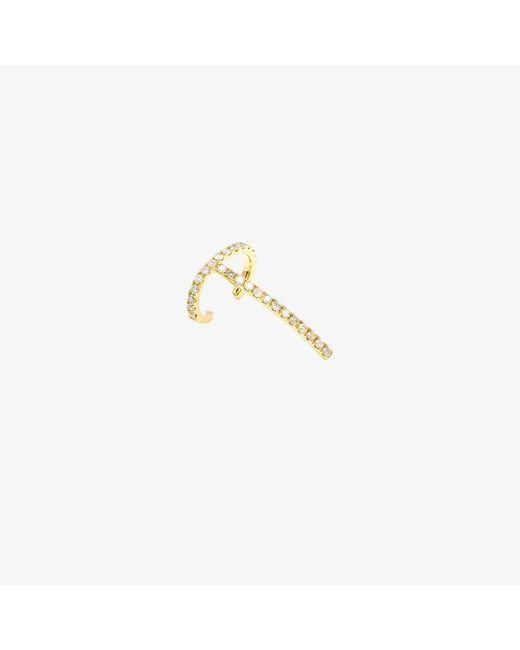 Asherali Knopfer | Metallic Theo Diamond Earring | Lyst