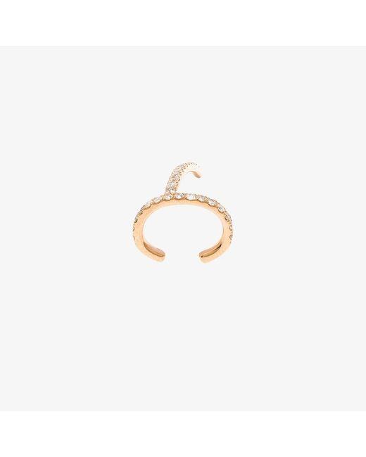 Asherali Knopfer | Multicolor 18k Rose Gold Theo Diamond Earring | Lyst