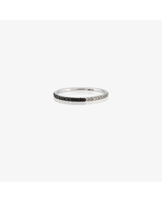 Ileana Makri | White Diamond Studded Ring | Lyst