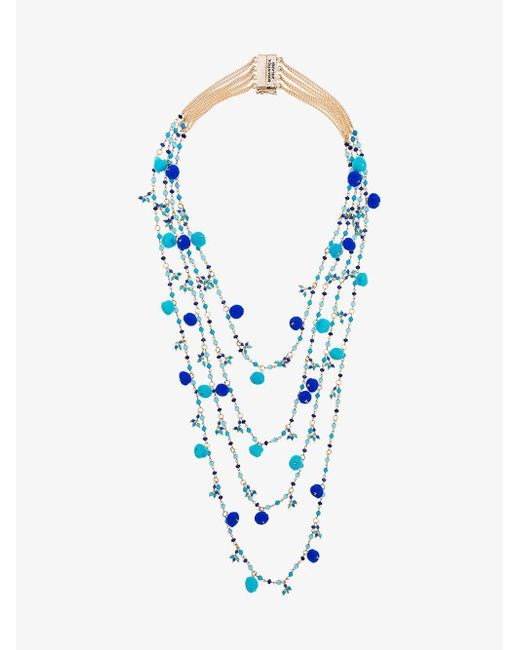 Rosantica - Blue Alchimia Beaded Necklace - Lyst