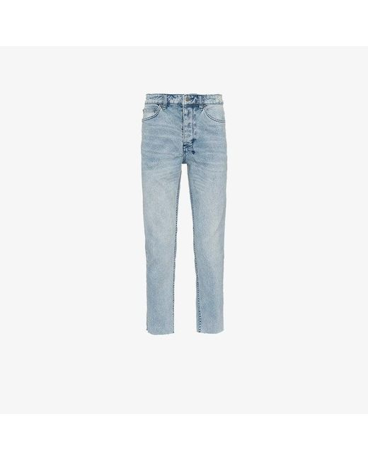 Ksubi - Blue Chitch Chop Acid Attack Jeans for Men - Lyst