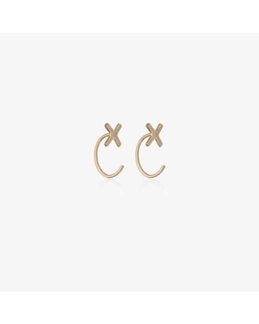 Melissa Joy Manning | Metallic Cross Stud Earrings | Lyst