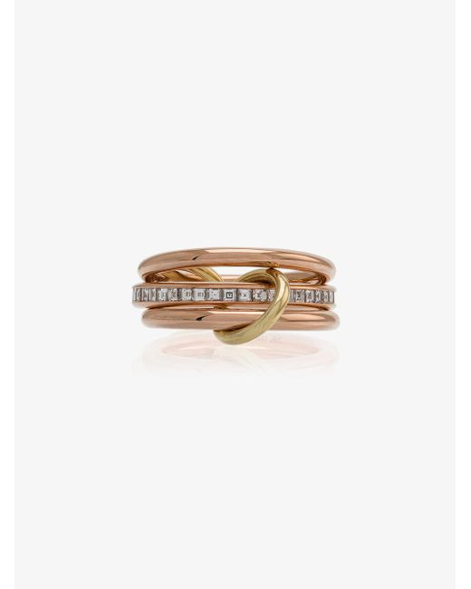 Spinelli Kilcollin - Metallic 18k Rose Gold Diamond Ring - Lyst
