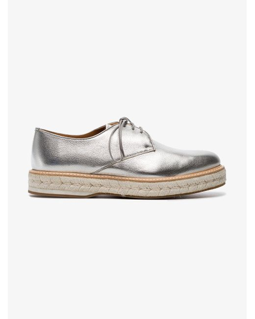 Church's - Metallic Taylee Flat Brogues - Lyst