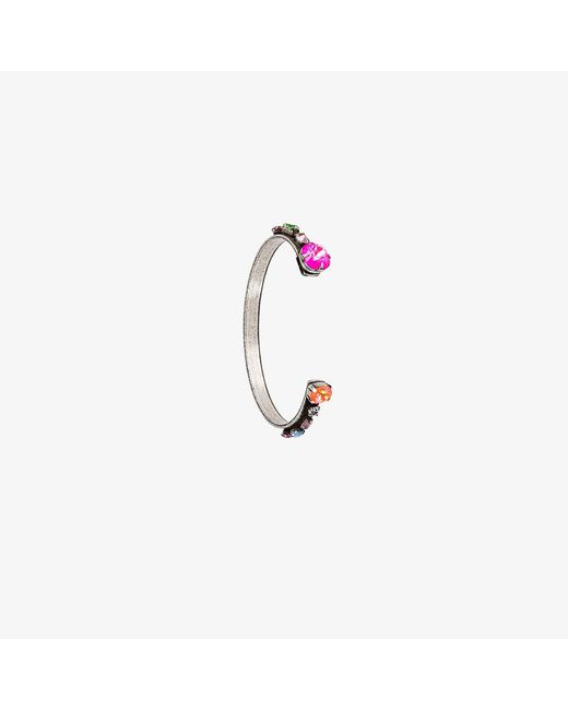 DANNIJO | Metallic Swarovski Crystal Laniyan Bracelet | Lyst