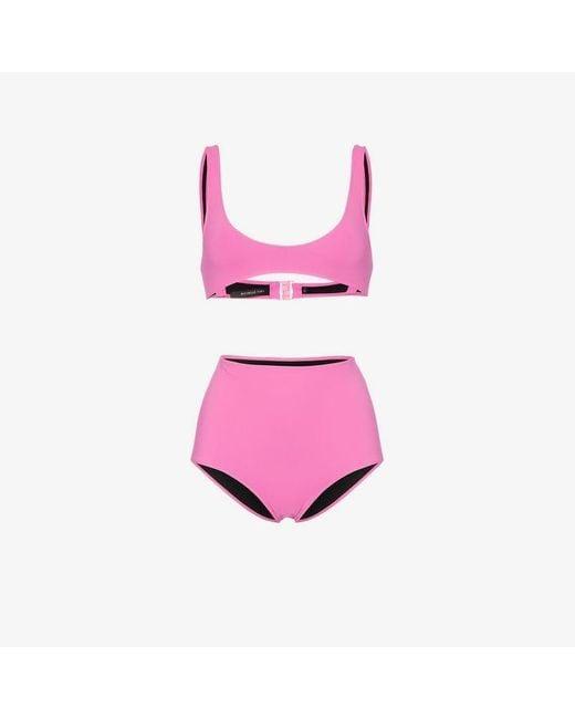 Rochelle Sara - Pink Laeti Emily Scoop Neck Bikini - Lyst