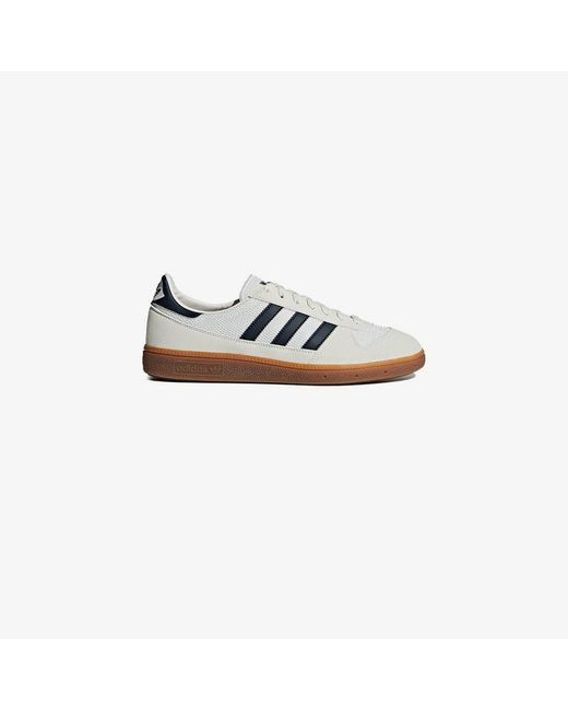 ec767cba9930 Adidas White And Navy Wilsy Spzl Leather Sneakers in White for Men ...