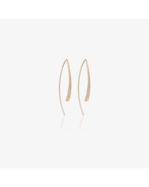 Melissa Joy Manning - Metallic Open Hoop Earrings - Lyst