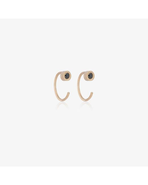 Melissa Joy Manning | Metallic Black Diamond Earrings | Lyst