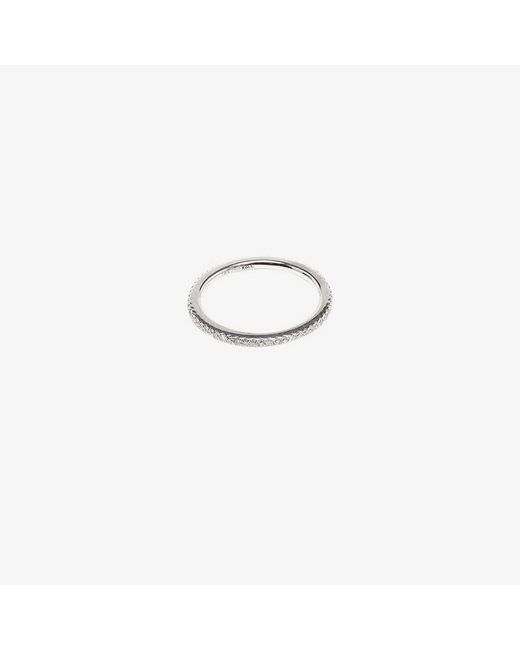 Rosa De La Cruz - White Diamond Midi Ring - Lyst