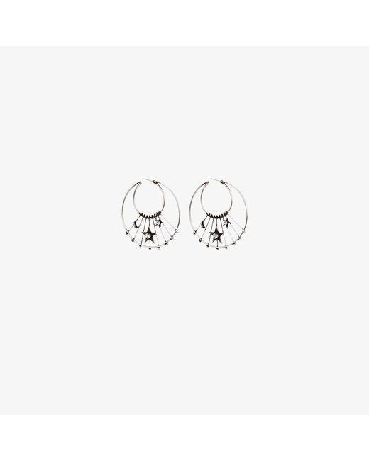 DANNIJO | Metallic Fynn Earrings | Lyst