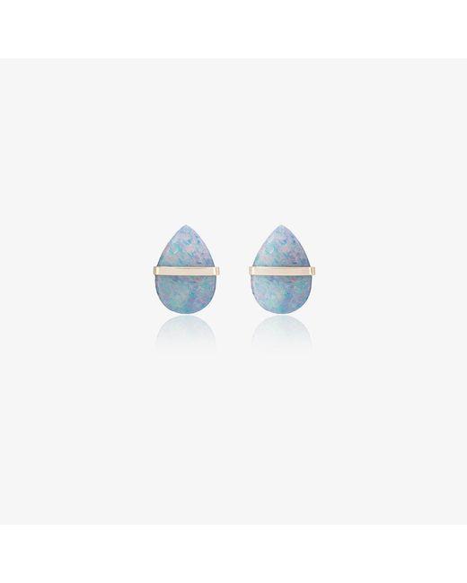 Melissa Joy Manning | Metallic Labradorite Stud Earrings | Lyst