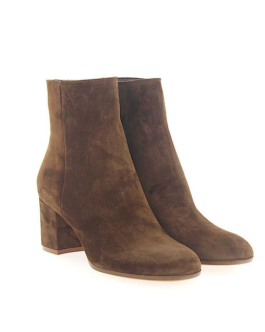 Gianvito Rossi Boots MARGAUX MID BOOTIE nappa leather xNTZwP0f82