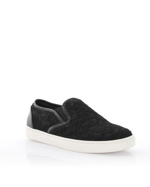 Dolce & Gabbana | Sneakers Pizzo Taormina Dauphi Black | Lyst