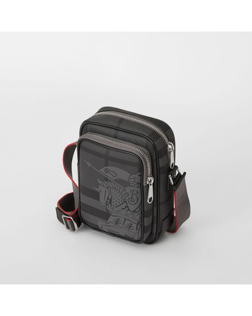 Burberry - Black Small Ekd London Check Crossbody Bag for Men - Lyst ... f722dbfc31c1b