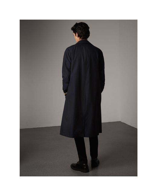 Burberry The Brighton – Extra-long Car Coat - Men   in Blue for ...