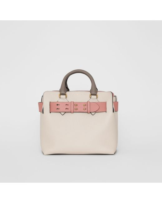 2128bacfb79 Burberry - Multicolor The Small Tri-tone Leather Belt Bag - Lyst ...