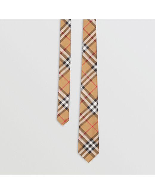 Burberry - Multicolor Modern Cut Vintage Check Silk Tie for Men - Lyst